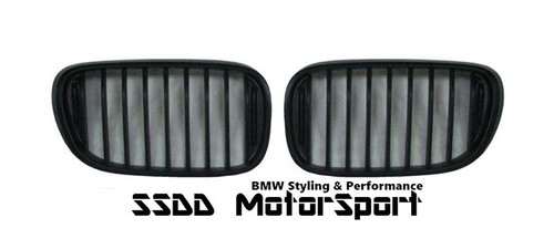 BMW G11 7 series black performance kidney grilles