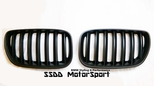 BMW E83 X3 performance black kidney grilles