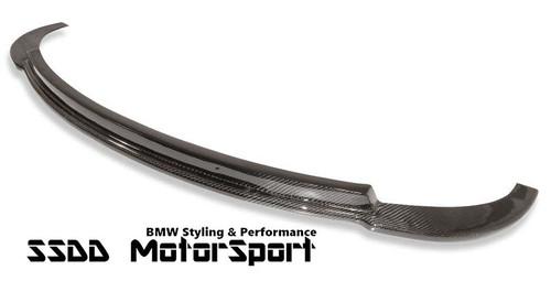 BMW E85 E86 Z4M carbon fibre front splitter