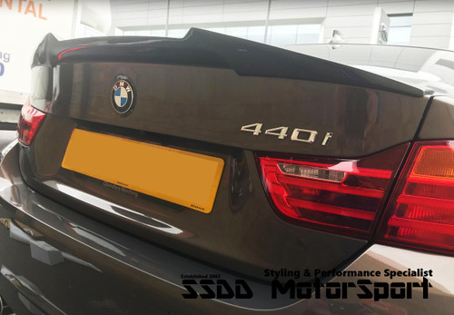 RENNESSIS V Racing F32 Coupe Carbon Fibre Rear Boot Spoiler