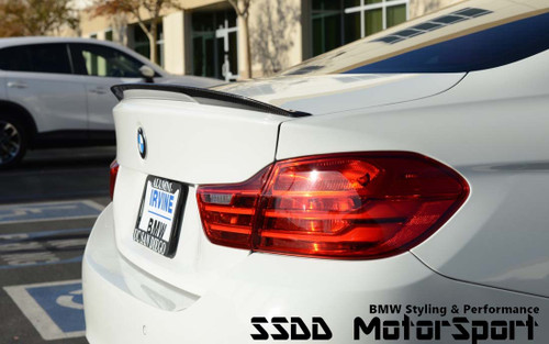 BMW F32 Aero Performance carbon fibre spoiler