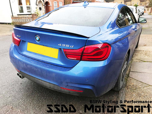 Painted F32 Mperformance look spoiler