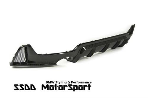 BMW F32 F33 F36 Msport Carbon Fibre Dual Exits Diffuser