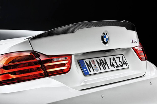 Genuine BMW F82 M4 M Performance Carbon Rear Spoiler 51192350722