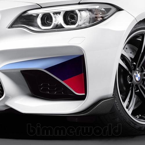 Genuine BMW F87 M2 MPerformance Carbon Fibre Front Splitters | 51192365981 & 51192361668