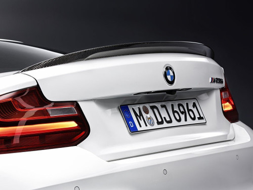 Genuine BMW F87 M2 MPerformance Carbon Fibre Boot Spoiler | 51622334541