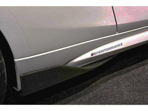Genuine BMW F87 M2 M Performance Carbon Fibre Side Blades | 51192365985 & 51192365984