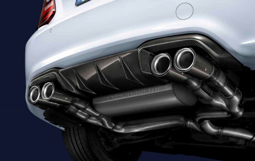 Genuine BMW F87 M2 MPerformance Exhaust System | 18302454297, 18302358110, 18302358111