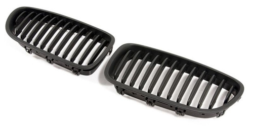 Performance Look Black Kidney Grilles for F10 F11 5 Series | Matt or Gloss Black