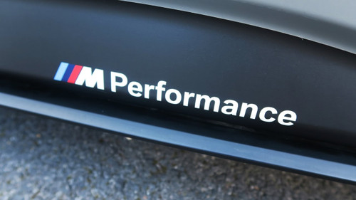 Genuine BMW M Performance Side Skirt Decal Stickers - F30 F32 F80 F82 F10