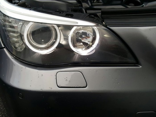 White LED Halo Angel Eyes Upgrade Kit for BMW E60 E61 LCI with Halogen Headlights