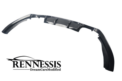 RENNESSIS GT-S Carbon Fibre Rear Diffuser for BMW F85 X5M