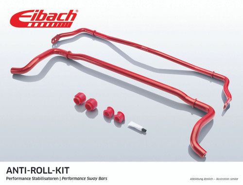 Eibach Anti-Roll Bar Kit 28mm Front 15mm Rear E40-20-013-01-11 for BMW E8X 1 Series and E9X 3 Series