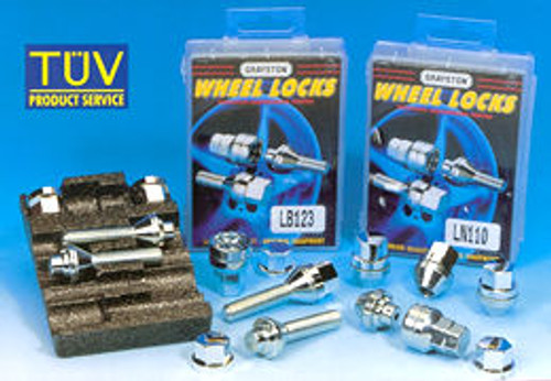 Longer Wheel Bolts and Wheel Locking Set