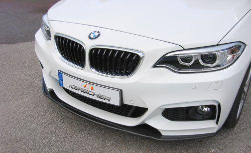 KERSCHER Carbon Fibre Front Lower Splitter for BMW F22 F23 MSport Models (3073001KER)