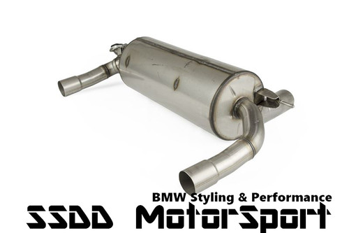 Genuine BMW M Performance Exhaust Silencer for N55 M235i, 335i & 435i (18302354340 )