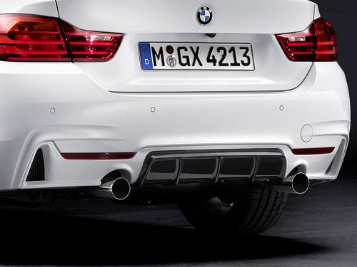 Genuine BMW M Performance Exhaust Tailpipe Trims x 2 for B58 & N55 Engines