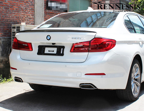 RENNESSIS M Look Carbon Fibre Lip Spoiler for G30 5 Series & F90 M5