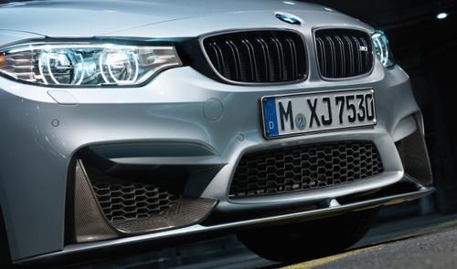 Genuine BMW M Performance Front Lower Splitter Matt Black for F80 M3, F82 F83 M4 - 51192350711