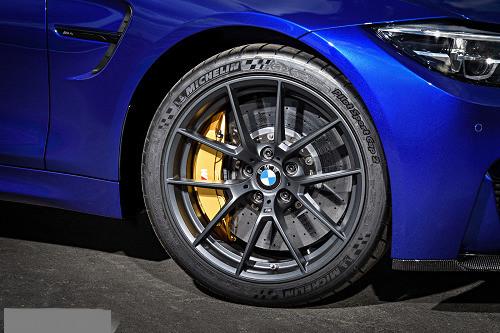 BMW M Performance Y-spoke 763 Wheels & Tyre Set - Matt Black 36112449763
