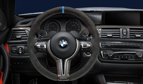BMW FX M3/M4 M Performance Alcantara Steering Wheel Without Race Display - 32302344147