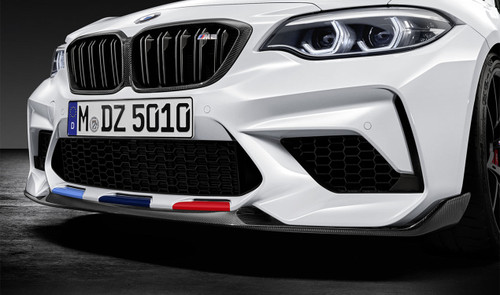 Genuine BMW M Performance Carbon Front Splitter for F87 M2 Competition - 51192449476