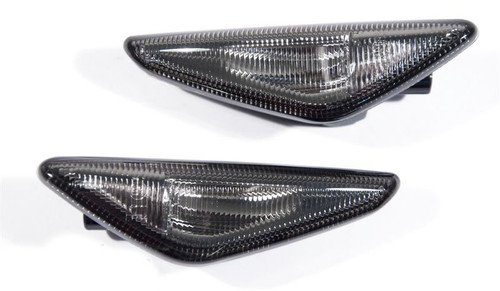 LED Side Repeater Lenses for BMW E70 X5 E71 X6 - Crystal or Smoked Lenses