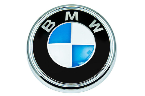 Genuine BMW E93 Coupe Rear Emblem Roundel Badge - 51147146052