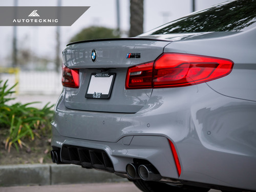 AutoTecknic Dry Carbon Competition Rear Diffuser for BMW F90 M5