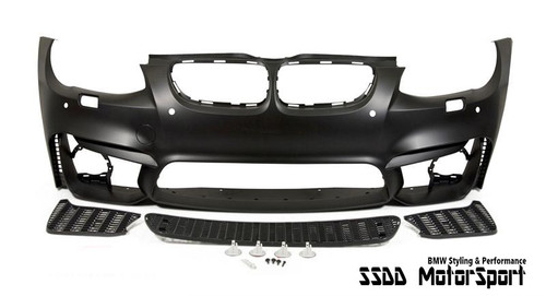 M4 Look Front Bumper Kit Without Fogs for BMW E92 E93 LCI Facelift 10-13