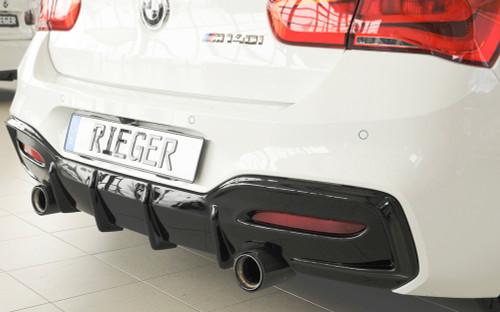 RIEGER BMW F20 F21 LCI M135i M140i Sport Look Diffuser
