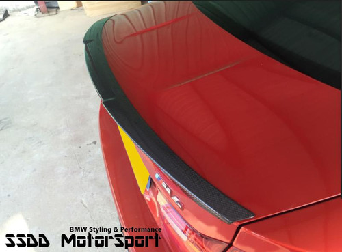 F82 M4 M Performance Style Boot Lip Spoiler - V1