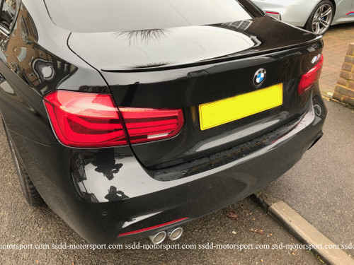 Painted M3 Style Lip Spoiler for F30 3 Series Saloon