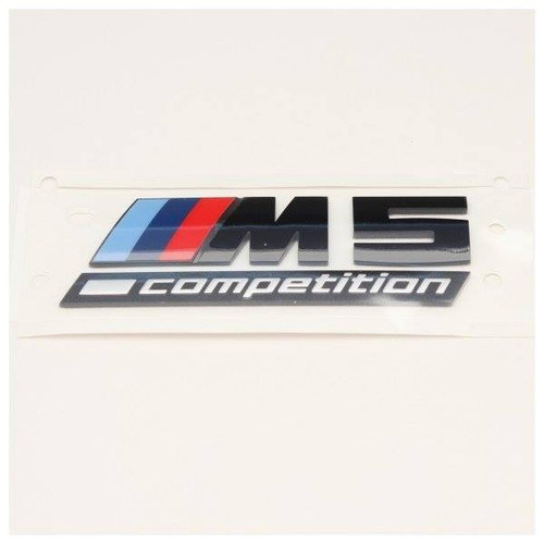 Genuine BMW F90 M5 Competition Rear Badge 51148078714