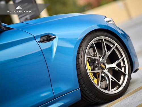 Autotecknic BMW F87 M2 Replacement Gloss Black Side Trims