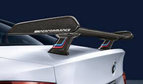 Genuine BMW M Performance 'Through-Flow' Carbon Fibre Spoiler for F22 F30 F32 F87 M2 F80 M3 & F82 M4 - 51192409319