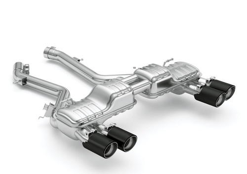 Eisenmann Performance Exhaust Rear Muffler for BMW F87 M2 Competition