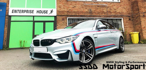 Genuine BMW MotorSport Stripe Kit for F80 M3 and F82 F83 M4