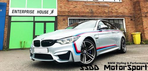 Genuine BMW MotorSport Stripe Kit for F80 M3 and F82 F83 M4