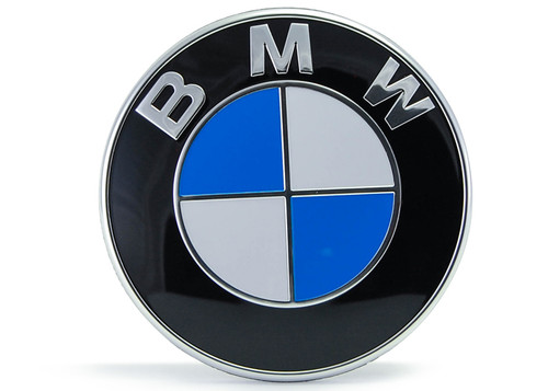 Genuine BMW Bonnet Emblem 82mm for F Chassis - 51767288752