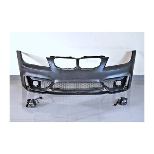 RENNESSIS M4 Look Front Bumper Kit for BMW E90 E91 LCI 08-12 - ABS Plastic