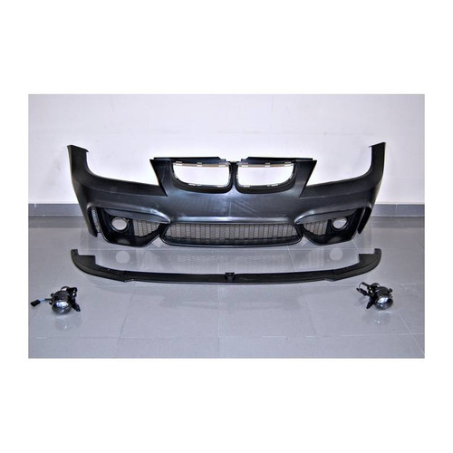 ENNESSIS M4 Look Front Bumper Kit for BMW E90 E91 PRE LCI 05-07 - ABS Plastic