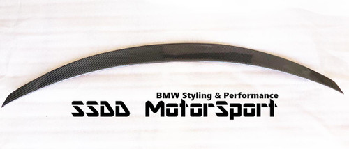 F82 M4 M Performance Style Boot Lip Spoiler - V3