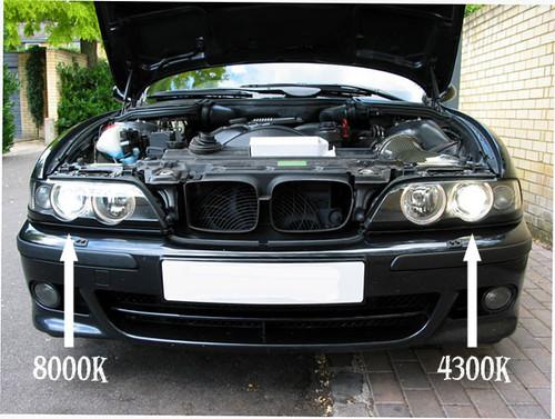 BMW HID Xenon retrofit kit error free