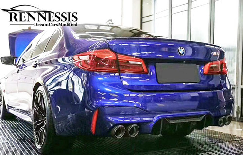 Rennessis EVO M Performance Look  Dry Carbon Fibre Rear Diffuser - BMW F90 M5 & M5 Competition