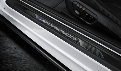 Genuine BMW M Performance Carbon Fibre Door Sills - F32, F33, F82 F83 M4 51472457839 & 51472460362