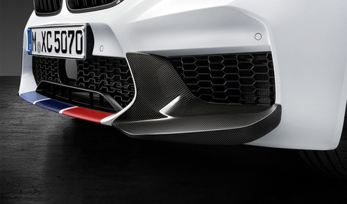 Genuine BMW M Performance Carbon Fibre Corner Attachments for F90 M5 - 51192449921 (with adhesive)