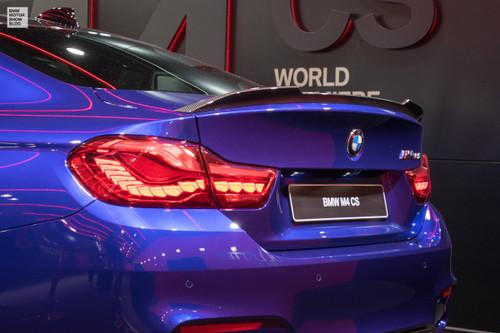 Genuine BMW F82 M4 and F80 M3 CS 'Club Sport' Carbon Fibre Spoiler  - 51628076046 or 51628076872