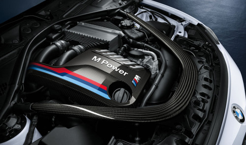 Genuine BMW M Performance F87 M2 Comptition, F80 M3 F82 M4 Carbon Fibre Engine Cover - 11122413815