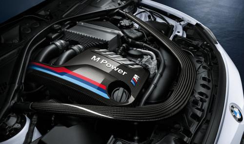 Genuine BMW M Performance F87 M2 Comptition, F80 M3 F82 M4 Carbon Fibre Engine Cover - 11122413815